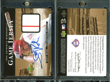 2000 Upper Deck - Game Jersey Autograph #H-SR AU, MEM