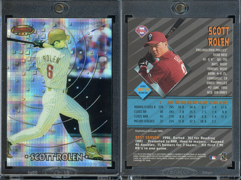 1997 Bowman - Bowman's Best Preview Atomic Refractor #BBP12