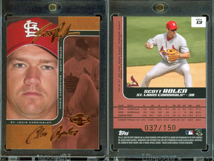 2006 Topps Co-Signers - Changing Faces Red #13b SN150