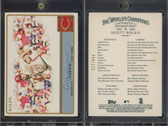 2011 Topps Allen & Ginter - Glossy Factory Set #82 SN999