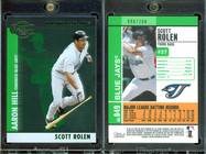 2008 Topps Co-Signers - Silver Green #49b SN200