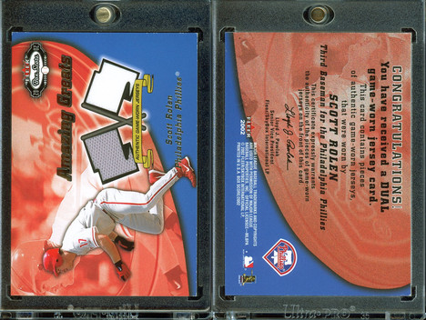 2002 Fleer Box Score - Amazing Greats Dual Swatch #12 MEM