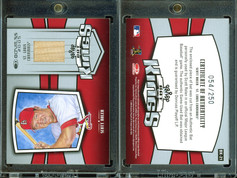 2005 Donruss - Bat Kings #BK-21 MEM, SN250