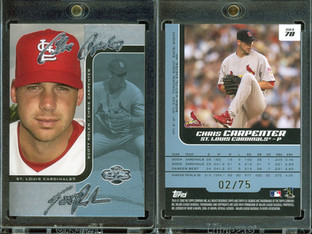 2006 Topps Co-Signers - Changing Faces Silver Blue #78b SN75