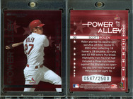 2004 Donruss - Power Alley Red #PA10 SN2500