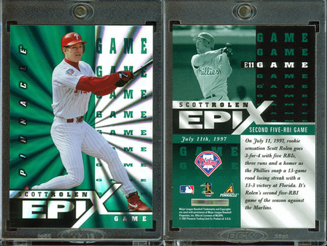 1998 Score - Epix Game Emerald #E11