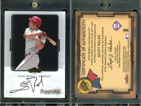 2000 Fleer Showcase - Fresh Ink #36 AU