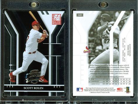 2004 Donruss Elite #145 Cal Ripken Baseball World Series