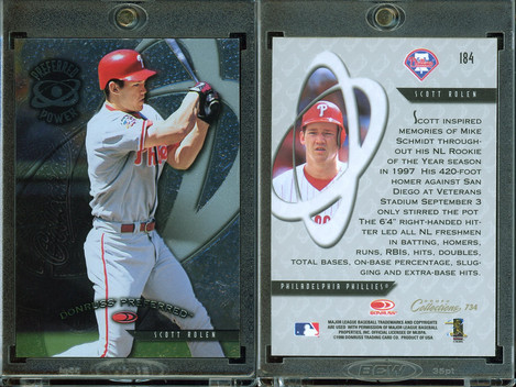 1998 Donruss Collections Preferred #734 PP, GS