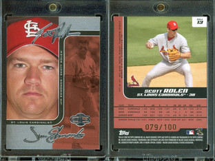2006 Topps 2006 Topps Co-Signers - Changing Faces Silver Red #13a SN100