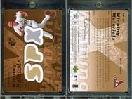 2007 SPx - Winning Materials Bronze #WM-SR MEM, SN199