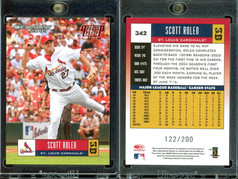 2005 Donruss - Press Proofs Red #342 SN200