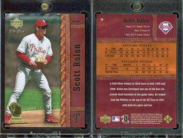 2001 Upper Deck Gold Glove - Limited #79 SN100