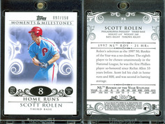 2008 Topps Moments & Milestones #73-8 SN150