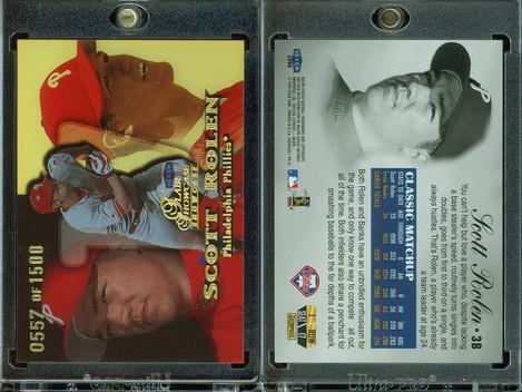 1999 Flair Showcase Row 1 #17 SN1500