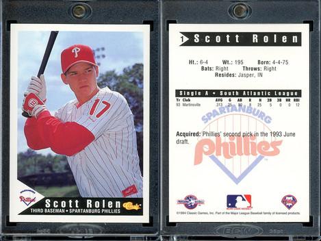 1994 Classic Best Spartanburg Phillies #1