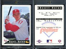 1994 Classic Best Spartanburg Phillies #