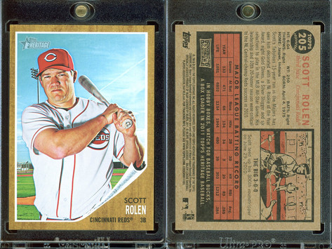 2011 Topps Heritage #205