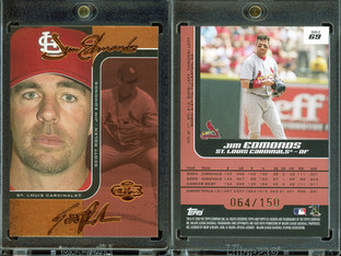 2006 Topps Co-Signers - Changing Faces Red #69c SN150