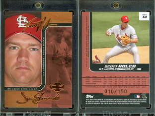2006 Topps Co-Signers - Changing Faces Red #13a SN150