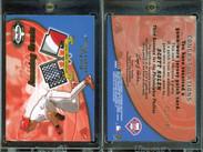 2002 Fleer Box Score - Amazing Greats Patch #12 MEM, SN150