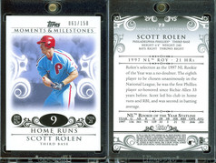 2008 Topps Moments & Milestones #73-9 SN150