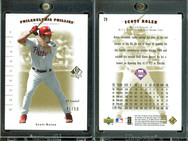 2001 SP Authentic - Limited #79 SN50