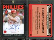 2021 Topps - 1986 Topps Baseball 35th Anniversary Autographs Black #86A-SR AU, SN199