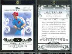 2008 Topps Moments & Milestones #73-6 SN150