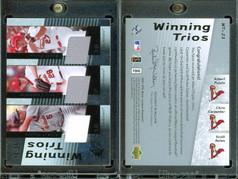 2007 SPx - Winning Trios Silver #WT-23 MEM, SN50
