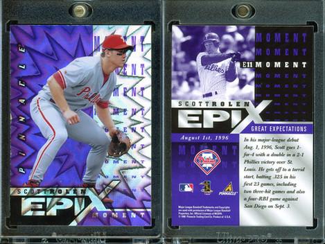 1998 Zenith - Epix Moment Purple #E11