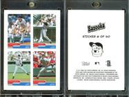 2004 Bazooka - 4-on-1 Stickers #6