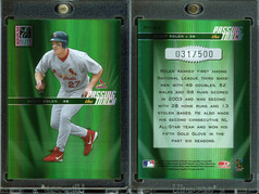 2004 Donruss Elite - Passing the Torch Green #PT-24 SN500