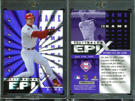 1998 Score - Epix Game Purple #E11