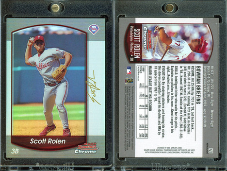 2000 Bowman Chrome - Refractors #120