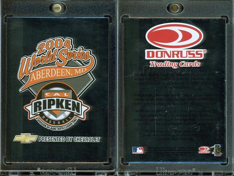 2004 Donruss Elite #NNO Cal Ripken Baseball World Series