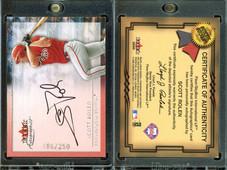 2001 Fleer Premium - Autographics Silver #NNO AU, SN250
