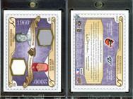 2009 SP Legendary Cuts - Generations Dual Memorabilia #GM-BS MEM