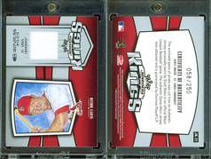 2005 Donruss - Jersey Kings #JK-21 MEM,SN250
