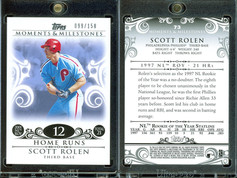 2008 Topps Moments & Milestones #73-12 SN150