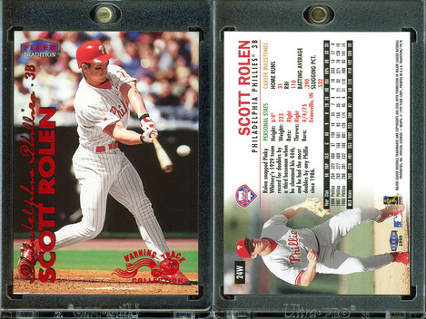 1999 Fleer Tradition - Warning Track Collection #24W