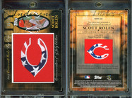 2010 Topps - Manufactured Hat Logo Patch #MHR-326 SN99