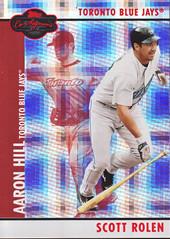 Hyper Plaid Red #49b Scott Rolen / Aaron Hill SN100