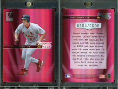 2004 Donruss Elite - Passing the Torch #PT-24 SN1000