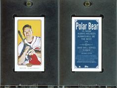 2010 Topps 206 - Mini Polar Bear #258