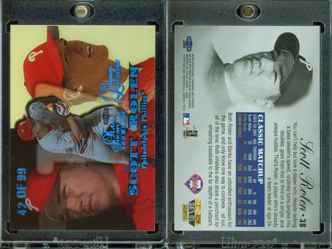 1999 Flair Showcase Legacy Collection Row 1 #17 SN99