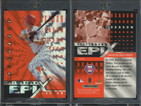 1998 Pinnacle - Epix Season Orange #E11