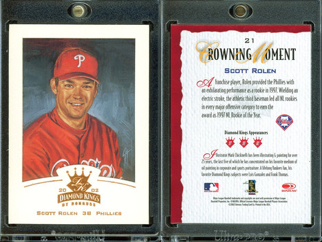 2002 Donruss Diamond Kings - Bronze Foil #21