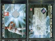 2002 Donruss Elite - Back to the Future Threads #9 MEM, SN100