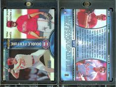 1999 Finest - Double Feature Dual Refractors #DF7